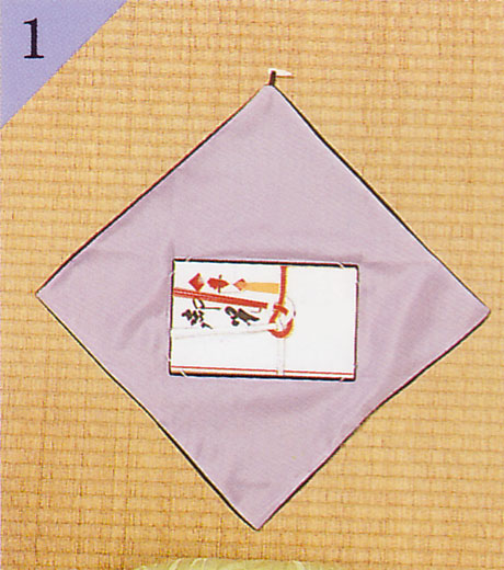 小風呂敷(手帛紗)・台付袱紗の場合