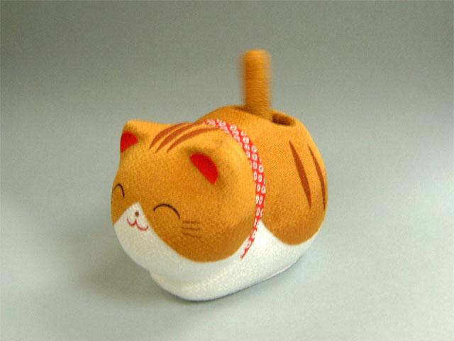 ゆらゆらソーラーミニ猫 トラ猫