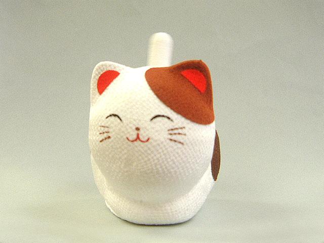 ゆらゆらソーラーミニ猫 三毛猫