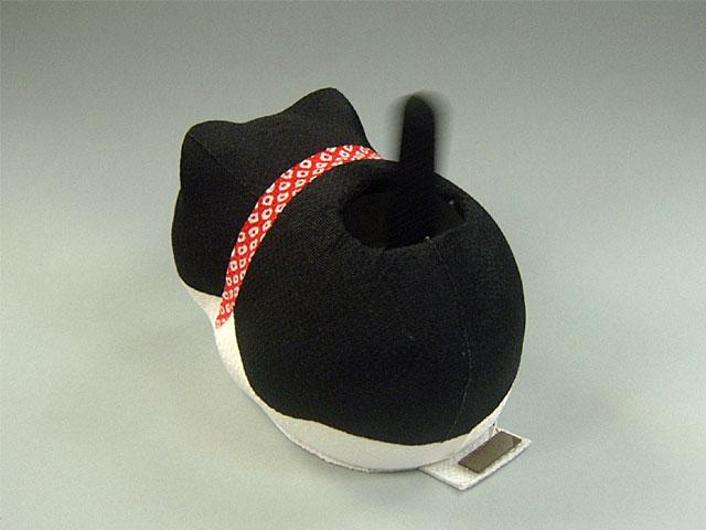 ゆらゆらソーラーミニ猫 黒猫