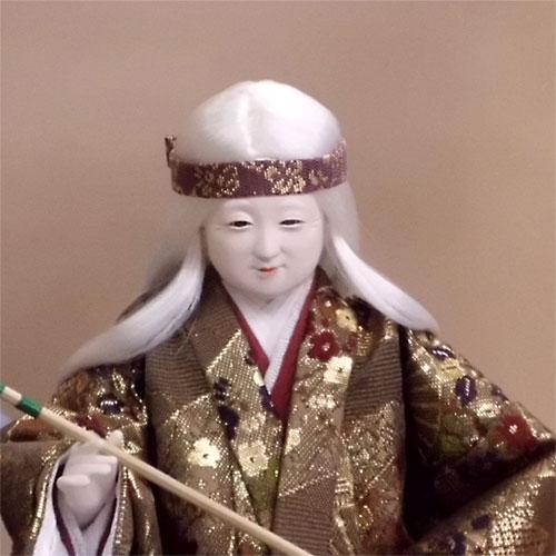 ケース入 高砂人形 特上本頭 寿喜代作
