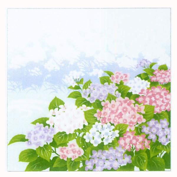 日本の四季 小風呂敷 夏