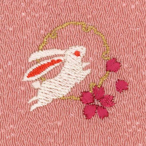刺繍 金封ふくさ 梅
