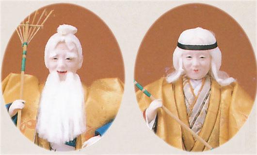 高砂人形 創作人形 金閣3号