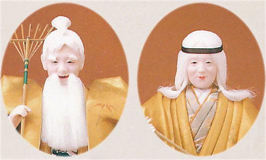 高砂人形 創作人形 金閣5号