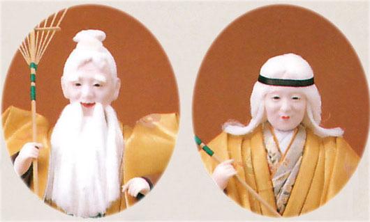 高砂人形 創作人形 金閣6号