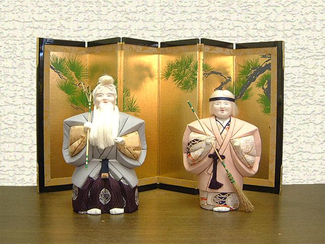 高砂人形 桂由美 木目込2号