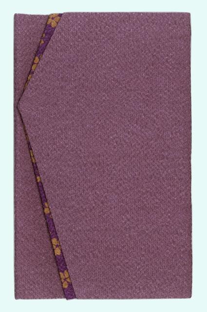 京縮緬 紫