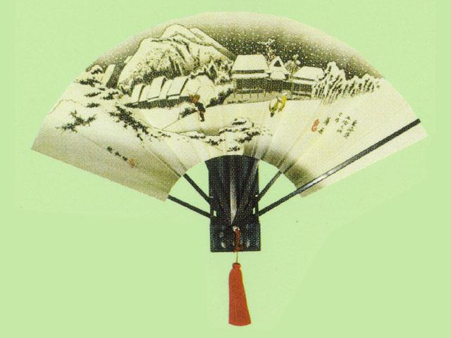 飾り扇 広重東海道