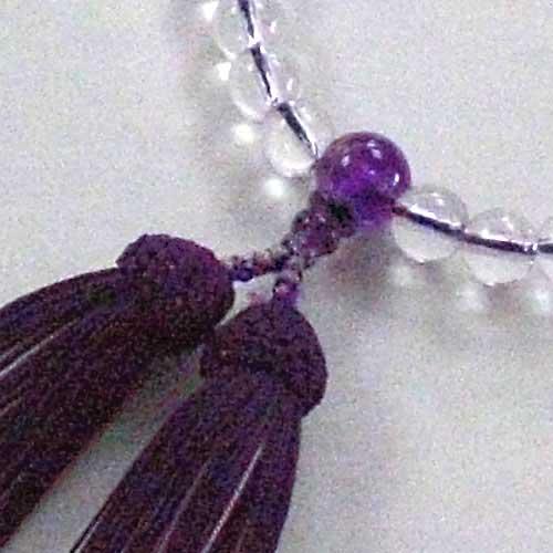 本水晶(紫水晶仕立
