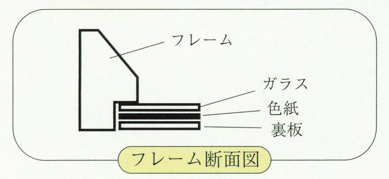 御木幽石(みきゆうせき) 色紙シリーズ Tフレーム額装